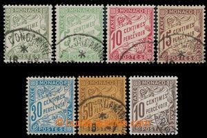 197946 - 1904-1909 POSTAGE-DUE  Mi.1-6, 7, Numerals 1C - 50C + 10C da