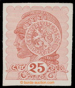 197978 - 1919 MUDRUŇKA, nepřijatý návrh na známku 60h Dívčí hlavička