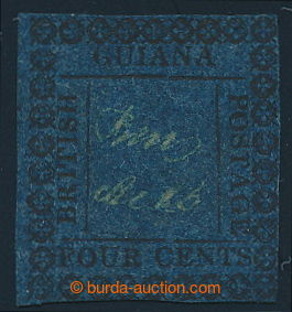 197991 - 1862 SG.123ba, 4C modrá, lokální vydání výplatních známek (R