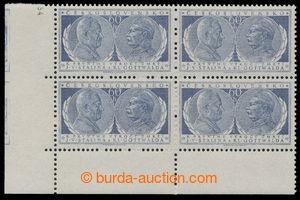 198088 - 1954 Pof.773DO, Gottwald a Stalin 60h modrá, levý dolní roho