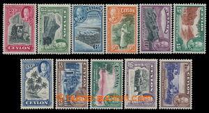 198098 - 1935 SG.368-378, Jiří V., Krajiny 2c - 1R, kompletní série,