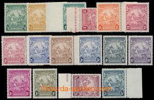198099 - 1938 SG.248-256, Znak kolonie 1/2-5Sh, kompletní série, 8ks
