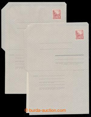 198131 - 1957 Mi.F1b, zálepka s vytištěnou známkou 20Pf Berlin Stalin