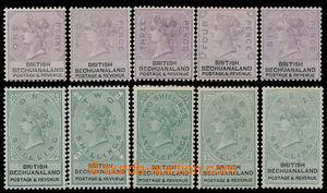 198144 - 1888 SG.10-19, Viktorie 1P-10Sh, první definitivní vydání pr