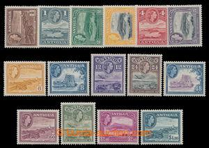 198176 - 1953 SG.120-134, Alžběta II. - Motivy; kompletní série, kat.