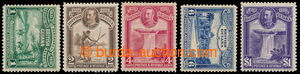 198179 - 1931 SG.283-287, Jiří V. - Místní motivy; kompletní série, s