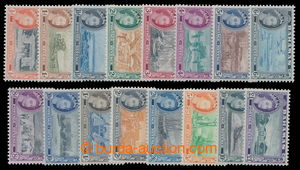 198181 - 1954 SG.201-216, Alžběta II. - Motivy; kompletní série, kat.