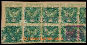198191 - 1918 ZT Pof.IV.M (!), zkusmý tisk protisměrného vodorovného
