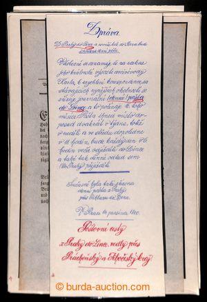198296 - 1800-1849 [SBÍRKY] HABSBURSKÁ MONARCHIE / POŠTOVNICTVÍ  sest