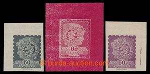 198312 - 1919 MUDRUŇKA, nepřijatý návrh na známku 60h Dívčí hlavička