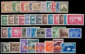 198544 - 1927-1937 sestava vybraných kompletních sérií, mj. Mi.329-33
