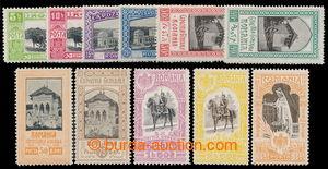 198550 - 1906-1923 Mi.197-207, Jubilejní výstava Bukurešť 5B - 3L; ka