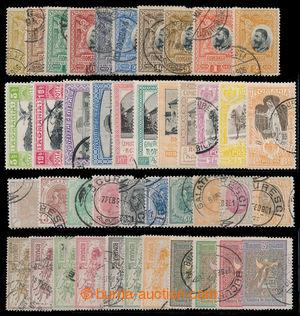 198670 - 1900-1906 sestava vybraných sérií: Mi117-126; 146-153; 173-1