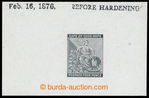 198723 - 1876 ZT  pro SG.30, Alegorie 4P, tisk definitivní rytiny na