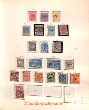 198787 - 1870-1970 [COLLECTIONS]  collection on pages in spring folde