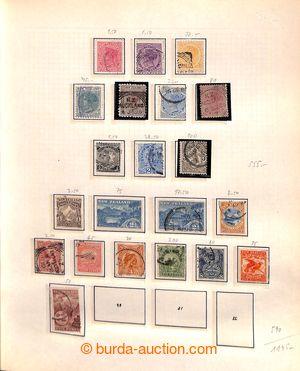 198787 - 1870-1970 [SBÍRKY]  sbírka na listech v pérových deskách, ob