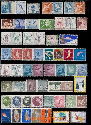 198836 - 1948-1985 SPORT  sestava 58ks známek s oblíbeným náměte