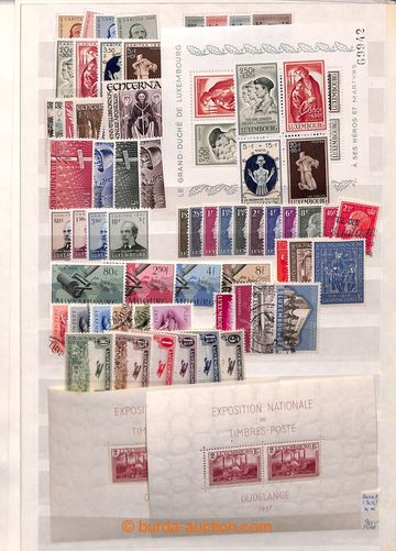 199102 - 1852-1960 [SBÍRKY]  NIZOZEMSKO / LUCEMBURSKO /   rozpracovan