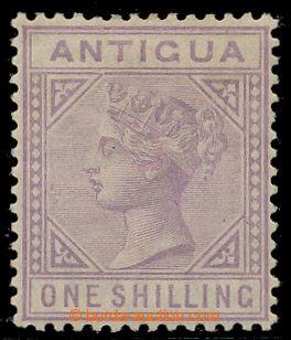 199107 - 1884-1887 SG.30a, Viktorie 1Sh fialová se vzácnou DV - TOP L