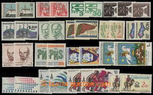 199127 - 1961-1981 BAREVNÉ ODSTÍNY / sestava 17 různých zn. s barevný