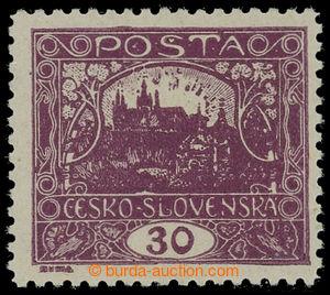 199225 -  Pof.13Da, 30h dark violet, line perforation 11½; very