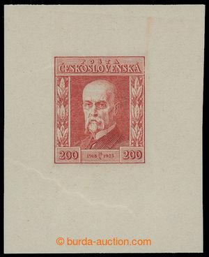 199249 - 1923 PLATE PROOF  Jubilee 200h in red color, print of origin