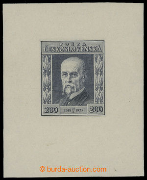 199251 - 1923 PLATE PROOF  Jubilee 200h in grey-blue color, print of