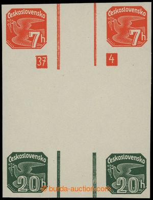 199256 - 1937 SVISLÁ MEZIARŠÍ  Pof.NV16+NV20, Holubice 7h + 20h, velm