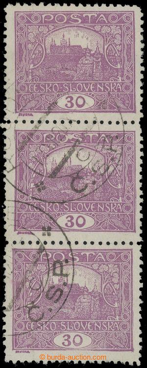 199301 -  Pof.13D, 30h light violet, line perforation 11½; verti