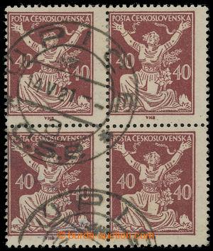 199307 -  Pof.154C ST, 40h hnědá, 4-BLOK, ležmý hřeben LH 14, ZP 85-8