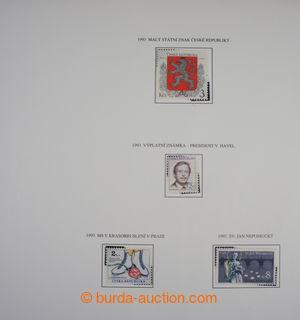 199391 - 1993-2015 [SBÍRKY]  NOMINÁL / partie známek ČR v malé krabic