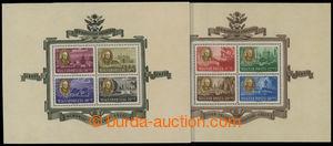 199405 - 1947 Mi.Bl.10-Bl.11, aršíky Roosevelt; velmi pěkná kvalita,