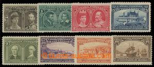 199461 - 1908 SG.188-195, 300. výročí Quebecku; kompletní svěží série