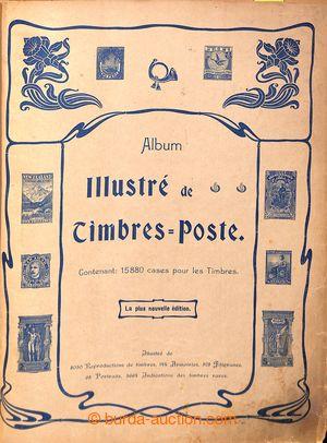 199569 - 1903 ALBUM ILLSTRÉ DE TIMBRES POSTE  used historical illustr