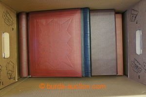 199573 -  [COLLECTIONS]  STOCK BOOKS / SPRING FOLDER  3x spring folde