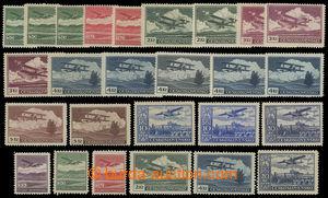 199589 - 1930 Pof.L7-L15, Definitivní vydání, sestava 26 známek této