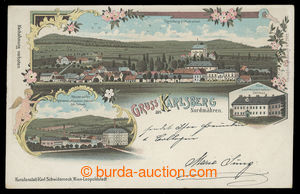 199615 - 1898 KARLOVEC - Karlsberg aus Northern Moravia, color lithog