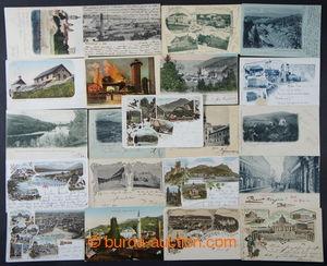 199624 - 1898-1940 [SBÍRKY]  sestava více jak 130ks pohlednic malého