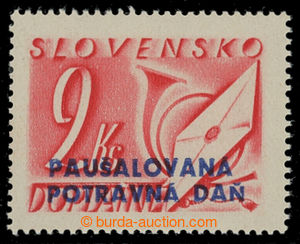 199663 - 1943 Sy.PD4, hodnota 2Ks; svěží