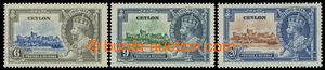 199713 - 1935 SG.379g-381g, Jubilejní Jiří V. 6C-20C, všechny 3 zn. s