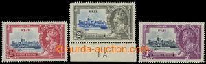 199715 - 1935 SG.242f, 243f, 245f, Jubilejní Jiří V. 1½P *, 2P *