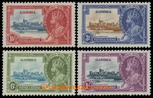 199718 - 1935 SG.143c-146c, Jubilejní Jiří V. 1½P-1Sh, všechny s