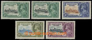 199781 - 1935 SG.187k,l, 188k-190, Jubilejní Jiří V. 1/2P(2x) - 1Sh,