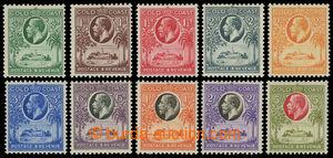 199798 - 1928 SG.103-112, Jiří V. Christianburg 1/2P-5Sh; bezvadné, k