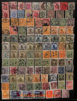 199917 - 1900-1965 [SBÍRKY]  menší partie na 7 listech v pérových des