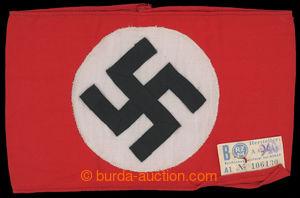 199920 - 1939 SVASTIKA /  originální textilní rukáv NSDAP se svastiko