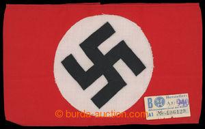 199921 - 1939 SVASTIKA /  originální textilní rukáv NSDAP se svastiko