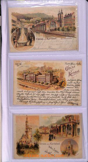 199927 - 1890-1950 [SBÍRKY]  KARLOVY VARY  sbírka 960ks pohlednic, ob
