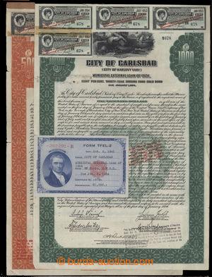 199987 - 1924 AKCIE MĚSTA KARLOVY VARY  (CITY OF KARLOVY VARY MUNICIP