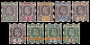 200143 - 1902 SG.10-18, Edvard VII. 1/2P-10Sh; kompletní a bezvadná s